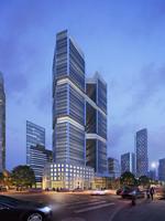 Cityscape Skyscraper 033 3D Model