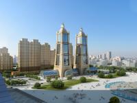 Cityscape Skyscraper 035 3D Model