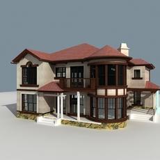 Architecture 807 VIlla Building 3D Model