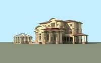 Architecture 808 VIlla Building 3D Model