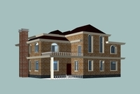 Architecture 810 VIlla Building 3D Model