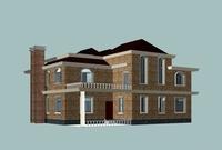 Architecture 810 VIlla Building 3D Model