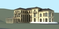 Architecture 812 VIlla Building 3D Model