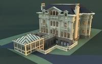 Architecture 813 VIlla Building 3D Model