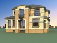 Architecture 816 VIlla Building 3D Model