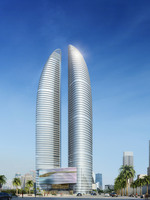 Cityscape Skyscraper 037 3D Model