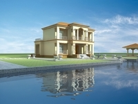 Architecture 825 VIlla Building 3D Model