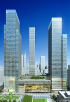 Cityscape Skyscraper 040 3D Model