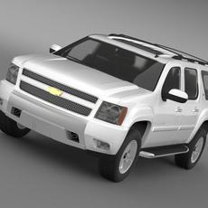 Chevrolet Suburban Z71 3D Model