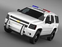 Chevrolet Tahoe Police 3D Model