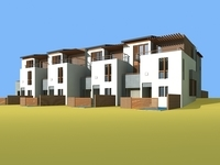 Architecture 831 VIlla Building 3D Model