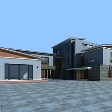 Architecture 832 VIlla Building 3D Model