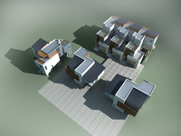 Architecture 833 VIlla Building 3D Model