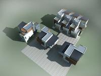 Architecture 833 VIlla Building 3D Model