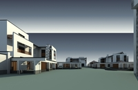 Architecture 8394 VIlla Building 3D Model