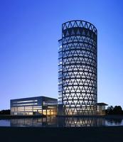 Architecture 849 Skyscraper office Building 3D Model