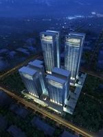 Cityscape Skyscraper 052 3D Model