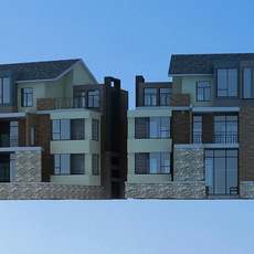 Architecture 865 VIlla Building 3D Model