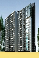 Architecture 868 High Rise Residential Building 3D Model