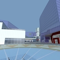 Architecture 886 office Building 3D Model