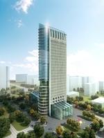 Cityscape Skyscraper 068 3D Model