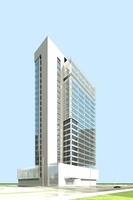 Architecture 898 Skyscraper Building 3D Model