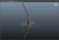 Bow and Arrow 1.0.0 for Maya