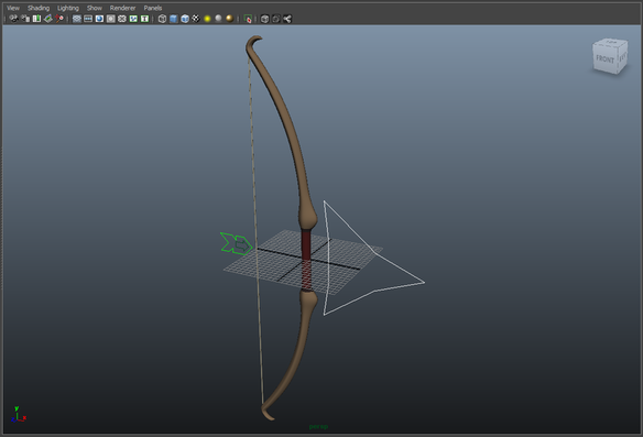 Bow and Arrow for Maya