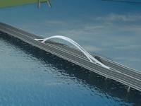 Bridge model 006 3D Model