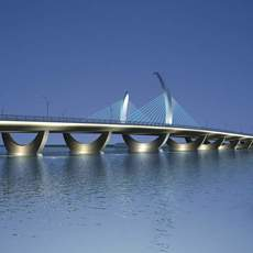 Bridge model 007 3D Model