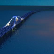 Bridge model 008 3D Model
