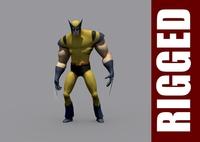 Wolverine (Rig) for Maya 1.0.0