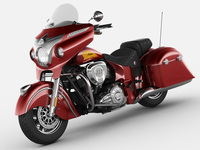 Indian Chieftain 2014 3D Model