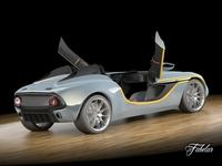 Aston Martin CC100 3D Model