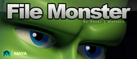 File Monster (Full Featured Version) for Maya 1.0.1 (maya script)