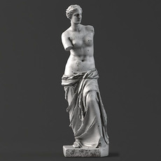 Sculpture 15 Venus 3D Model