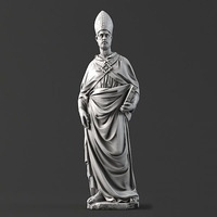 Sculpture 13 Pope 3D Model