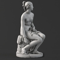 Sculpture 11 Nymph 3D Model