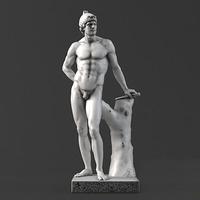 Sculpture 03 MARS 3D Model