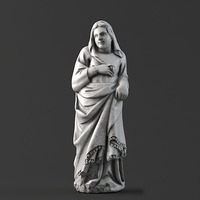 Sculpture 16 Viking Women 3D Model