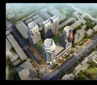 Cityscape Skyscraper 092 3D Model