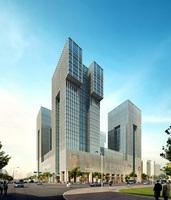 Cityscape Skyscraper 093 3D Model