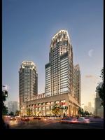 Cityscape Skyscraper 096 3D Model
