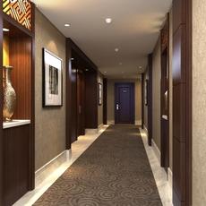 Corridor 028 3D Model