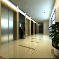 Elevator Space 002 3D Model