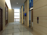 Elevator Space 007 3D Model