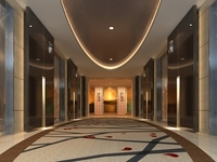 Elevator Space 009 3D Model