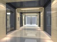 Elevator Space 008 3D Model