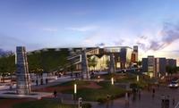 Museum Building 107 3D Model