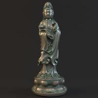 Kwan-yin 010 3D Model